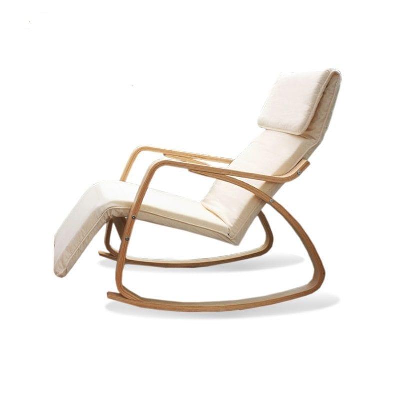 כסא נדנדנה מרופד