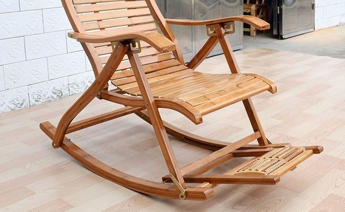 כסא נדנדה מבמבוק