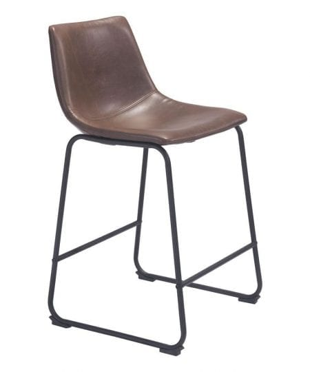 כסא בר מרופד מודרני