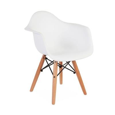 כסא ילדים איימס לבן