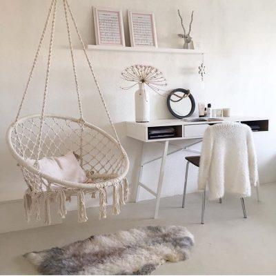 כסא נדנדנה חבלים